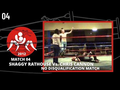 XWE14: South Shields Wrestling Match 04 - Shaggy RatHouse Vs. Chris Cannon