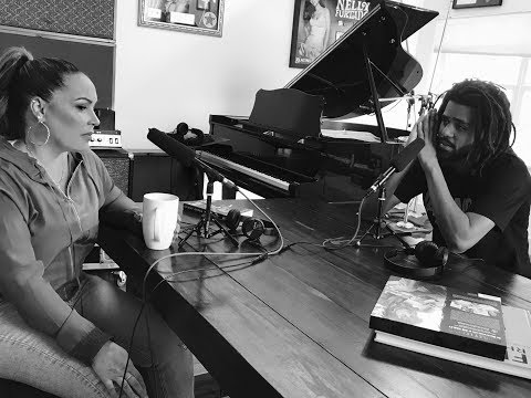 J Cole x Angie Martinez Interview at Salaams House