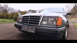Mercedes Benz W124/C124 E-class   Coupe 300CE   stanced Benz   Car Porn