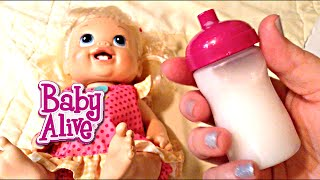 How to Make Baby Alive Doll Milk Recipe by Maya!!