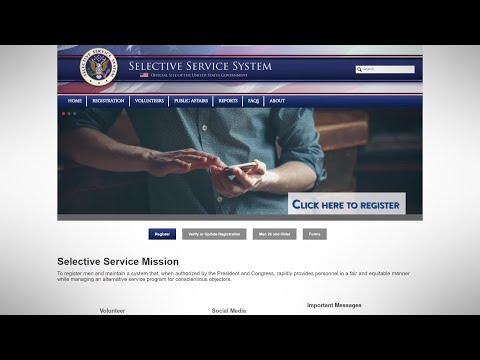 Selective Service, the Draft, as well as your 18-Year-Old