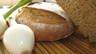 Рецепт- Хлеб домашний ржаной (на кефире)