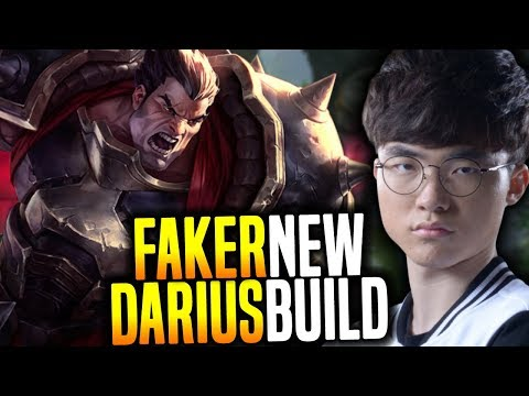 Faker Wants To Play Darius And Shows A New Build! - SKT T1 Faker SoloQ Playing Darius!