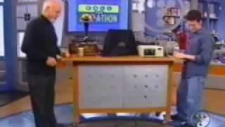Tech Tv  guy breaks one of a kind item!