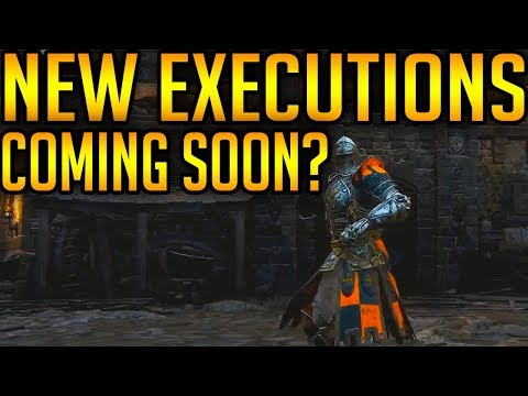 For Honor: NEW EMOTE! NEW EXECUTIONS COMING SOON?