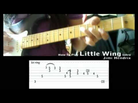 How To Play Jimi Hendrix Little Wing Intro