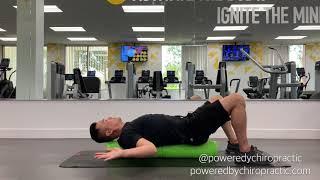 Pec Stretch with Foam Roller