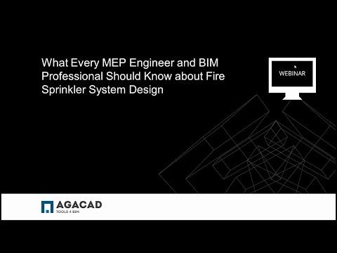 AGACAD WEBINAR: How to Improve Fire Sprinkler System Design