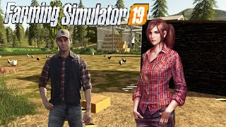 #23 - ASSUMO DUE OPERAI ANNA E GUSTAVO MOD HELPER ADVANCED - FARMING SIMULATOR 19 ITA RUSTIC ACRES