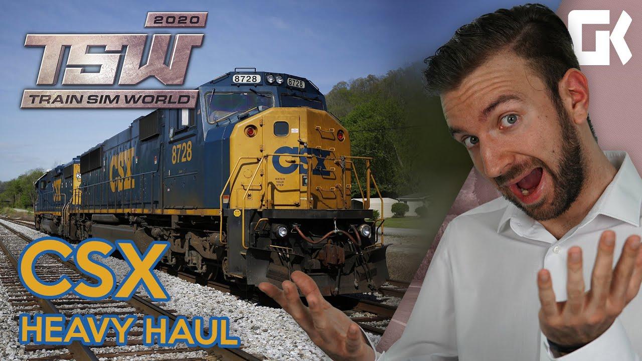 CSX HEAVY HAUL!   Train Sim World 2020 #03