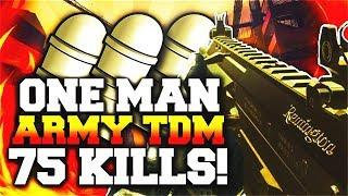 MW3: 1 Man Gets All 75 KILLS in Team Deathmatch
