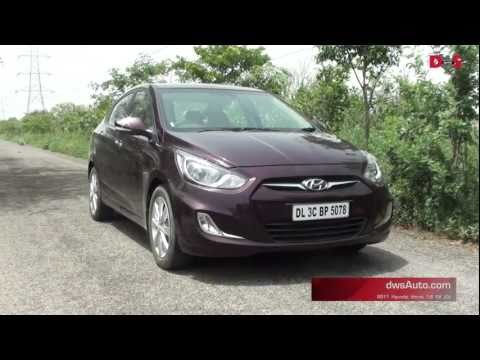 2011 Fluidic Hyundai Verna video review - dwsAuto road test and video of the new Hyundai Verna