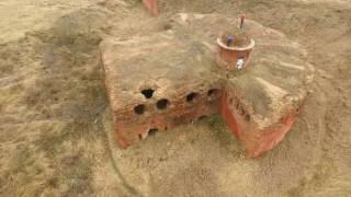 Бобруйская крепость (аэросъёмка)