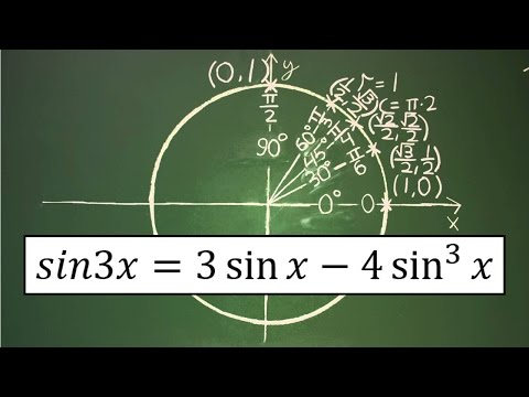 Trigonometry Identity: sin3x = 3sinx - 4sin^3(x)