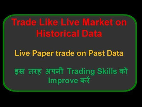 Live Backtesting - Create Your Own Successful Trading Strategy | HINDI