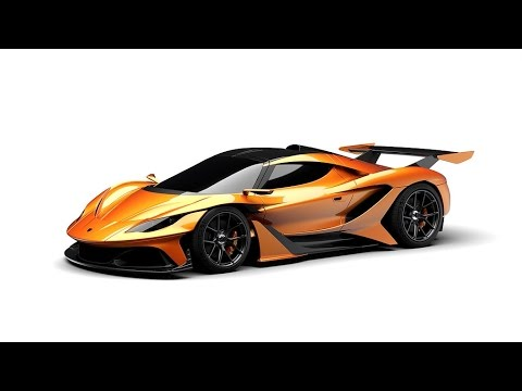 Hp New Apollo Arrow Hypercar Concept Youtube