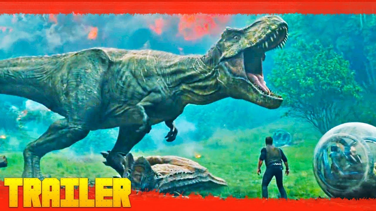 Jurassic World 2 El Reino Caído 2018 Tráiler Oficial Español Youtube