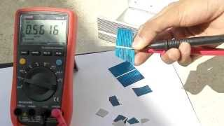Breaking A Solar Cell While Measurement