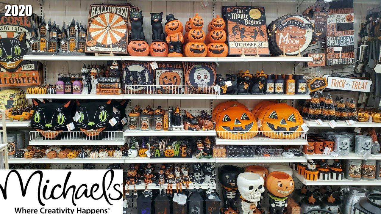 Ashland Halloween Decor 2020 MICHAELS HALLOWEEN EVERYTHING HALLOWEEN DECOR SHOP WITH ME 2020