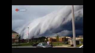 Tsunami değil bulut kütlesi
