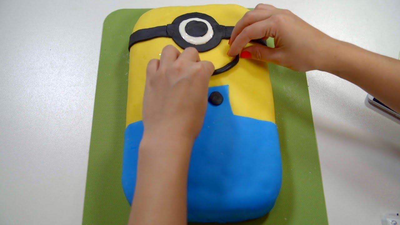 Minion Kuchen Dekorieren Youtube