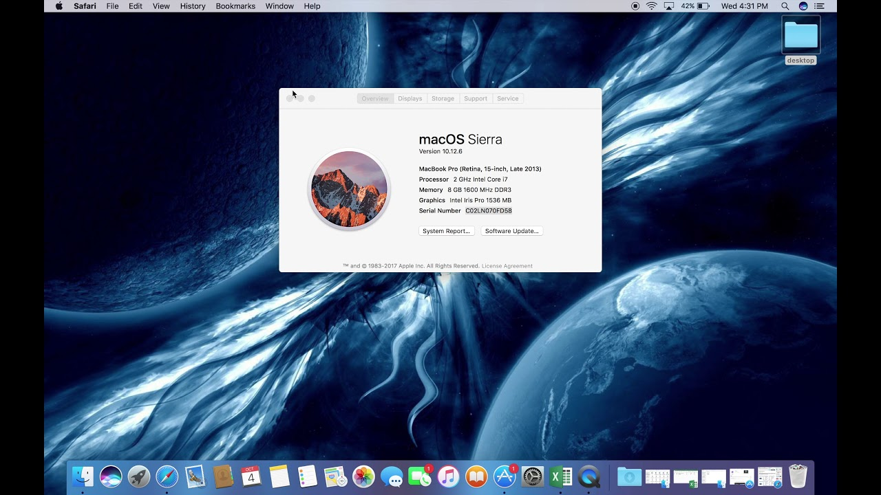 check macbook pro serial number