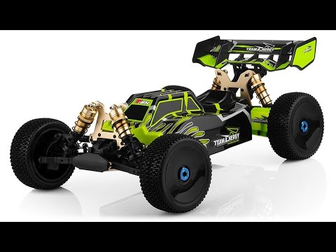 1/8th T8X Electric Brushless Powered Buggy by Team Energy OverView