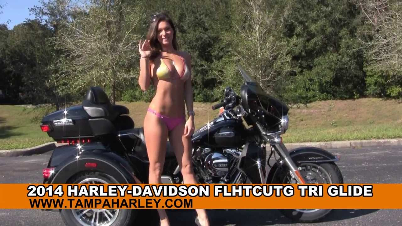 Harley Street Glide >> New 2014 Harley Davidson Tri Glide Ultra Trike for Sale - Twin Cooled Engine - YouTube