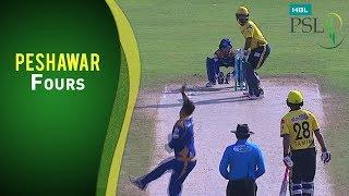 Match 10: Karachi Kings vs Peshawar Zalmi - Peshawar Fours