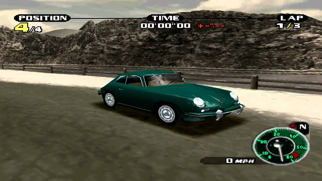 need for speed: porsche unleashed (2000)