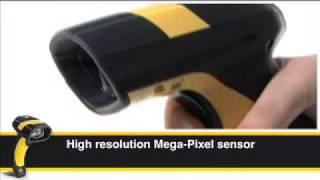 видео Сканер штрих кода Datalogic PowerScan M8500