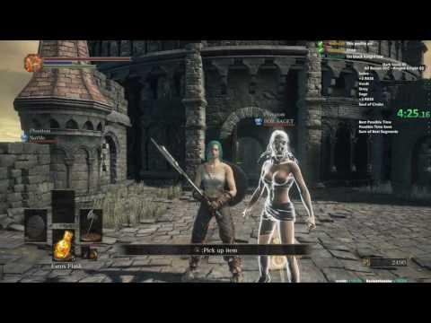 DS3 All Bosses Ringed Knight Greatswords Speedrun