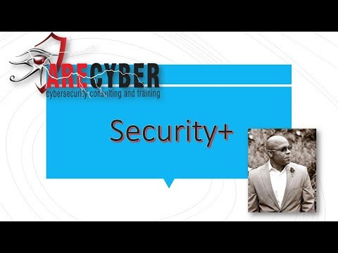 Security+ Domain 1 - General Security Concepts l Cybersecurity Training Videos l ARECyber LLC