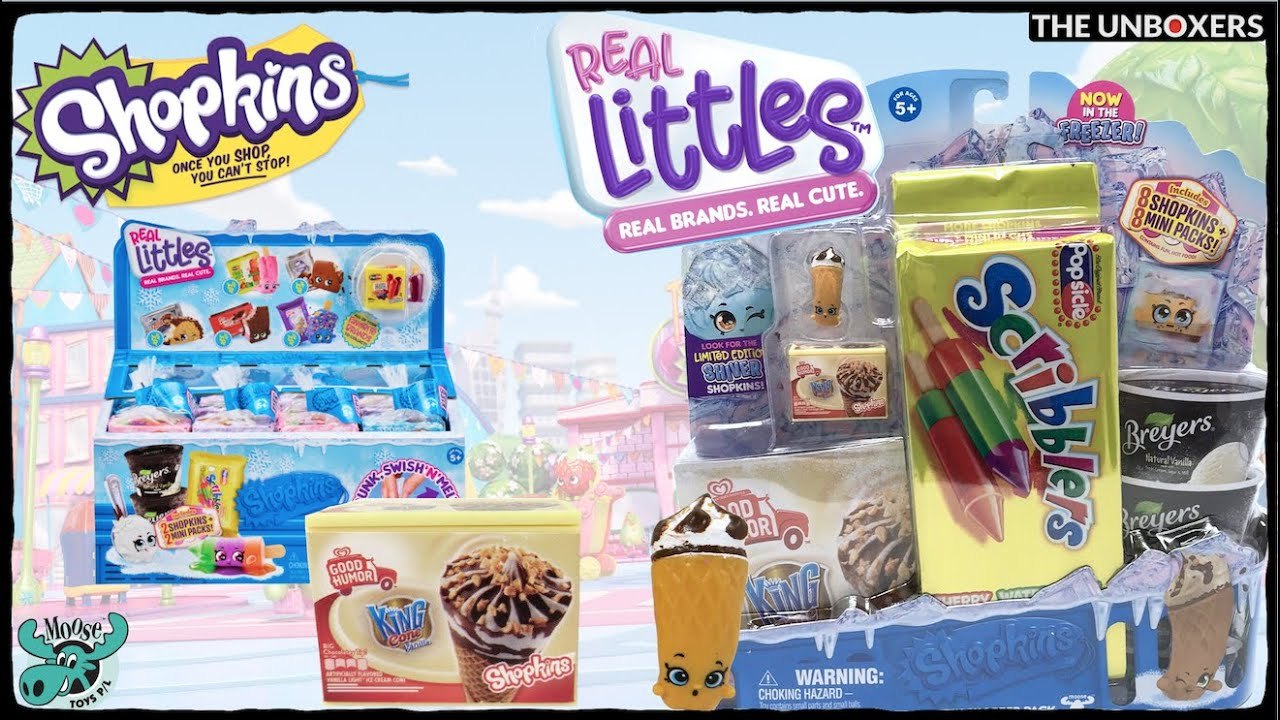 SHOPKINS REAL LITTLES SEASON 13 King Cone With Container
