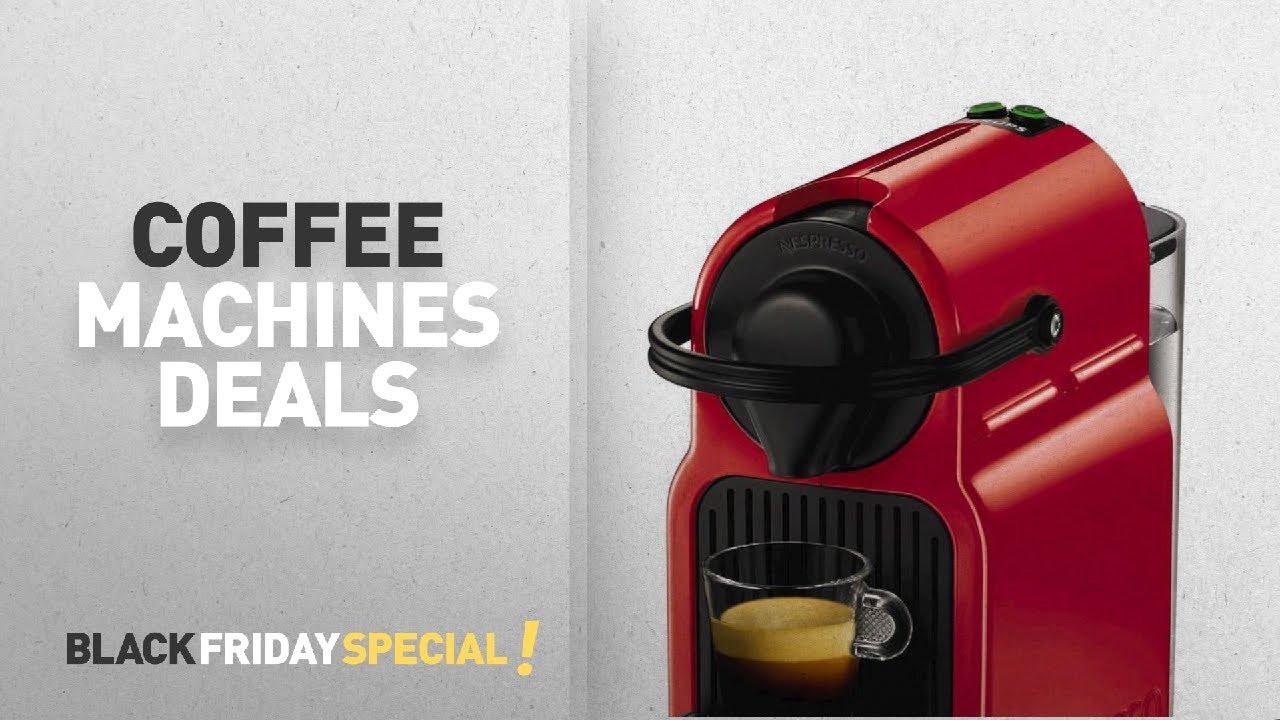 black friday coffee machines nespresso inissia coffee capsule machine youtube. Black Bedroom Furniture Sets. Home Design Ideas