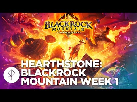 Hearthstone: Blackrock Mountain Week 1 Gameplay Walkthrough