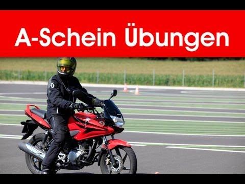 Praktische Übungen für Motorradführerschein