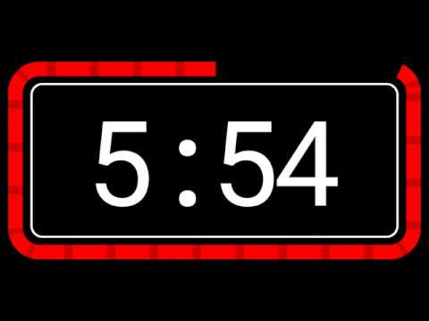 7 Minute Timer Countdown - No music