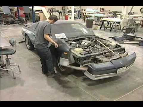 The Making Of Real Life Lightning Mcqueen From Movie Cars Part 1