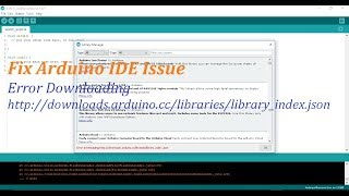 How To Fix Arduino IDE Additional Library Installation Error