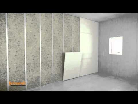 W Mega Montaż ściany z płyt FERMACELL - YouTube TY16