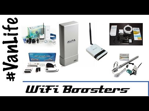 Best WiFi Boosters - How We Connect To The Internet. Campervan, Motorhome, RV, Vanlife
