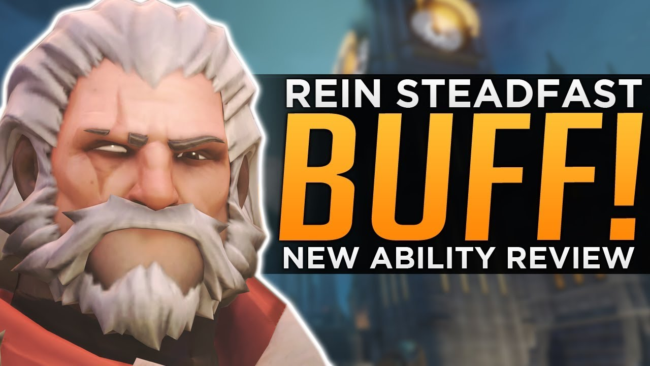 Overwatch: Reinhardt Steadfast BUFF Review - Is REIN Back!? thumbnail