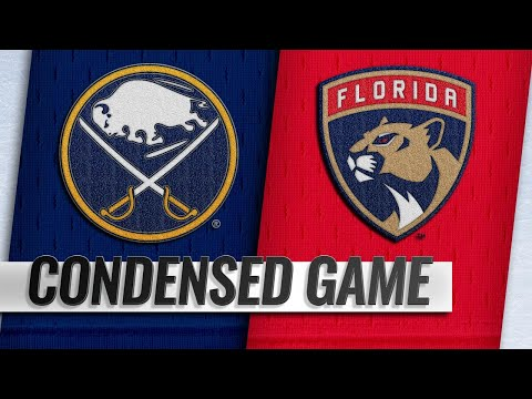 02/19/19 Condensed Game: Sabres @ Panthers