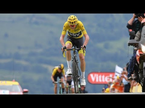 CHRIS FROOME GETS DROPPED & LOSES YELLOW JERSEY | TOUR DE FRANCE 2017