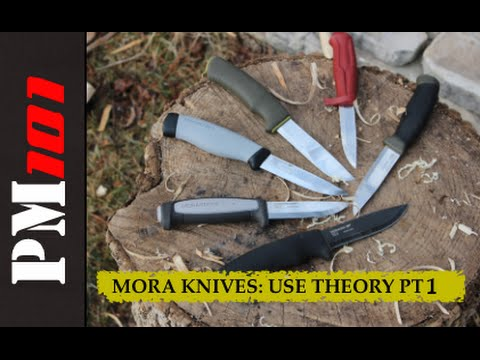 Mora Knives: Use Theory (Part 1 of 2)    - Preparedmind101 - Mantis Outdoors