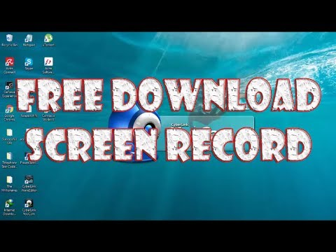 Free Download Screen Video, Screen Record CyberLink YouCam