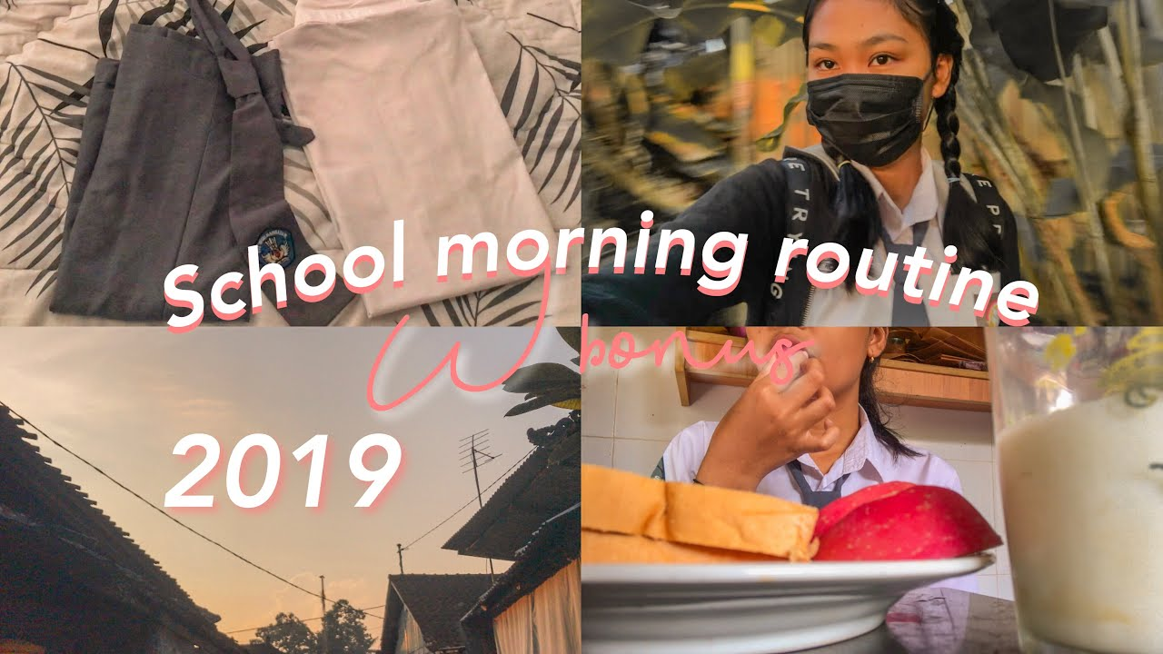 my school morning routine 2019  indonesia | richaanggreni