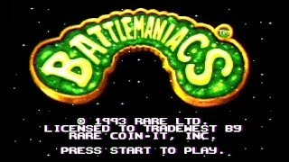 Battletoads In Battlemaniacs SNES Gameplay Super Nintendo