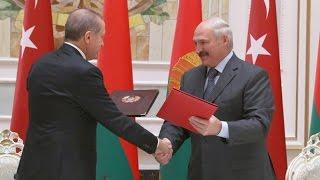 Реджеп Эрдоган – Александру Лукашенко: «Мы можем поднять уровень товарооборота до 1 миллиарда»